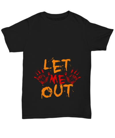 Let Me Out Halloween T-Shirt