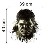 The Incredible Hulk Reusable Surface Decal