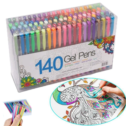 Office and School 140 Gel Pens