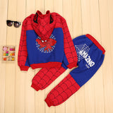 Boys Toddler and Kids Spider-Man 2-Piece Outfit