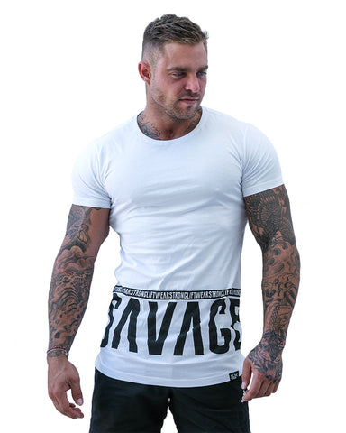 Young Men's Slim Fit Fashion Gym Shirt