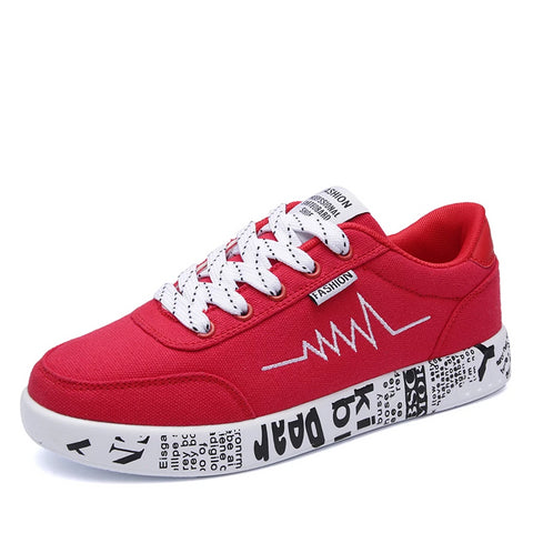 Ladies Pulse Graffiti Walking Sneakers