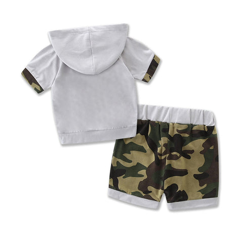 Infant/Toddler Hooded Camouflage 2 Piece Set