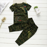 Boys Toddler and Kids Camouflage 2-Piece Set