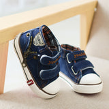 Toddler Unisex Canvas Fashion Denim Sneakers