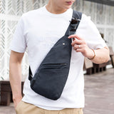 Unisex Anti-Theft Men's Multi-Pocket Shoulder Bag