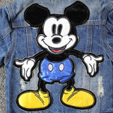 Unisex Toddler and Kids Mickey Mouse Denim Jacket