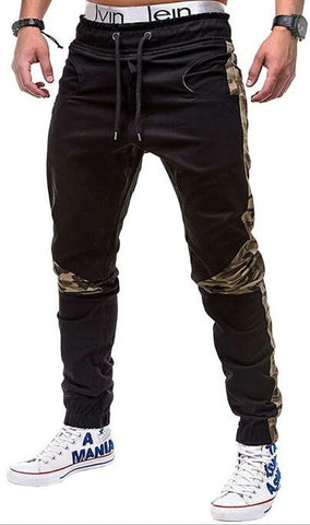 Young Men's Camouflage Accented Jogger