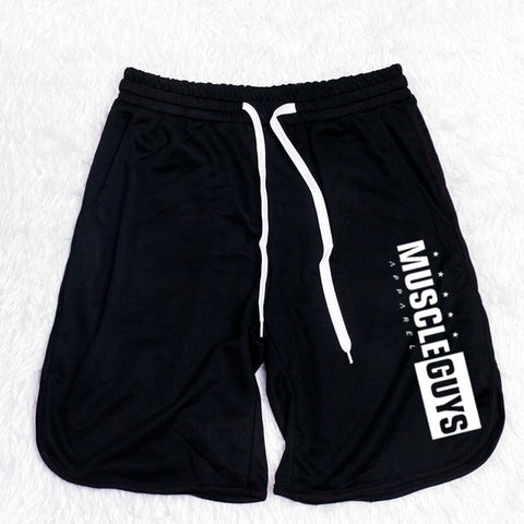 Young Men's Muscle Guys Workout Shorts