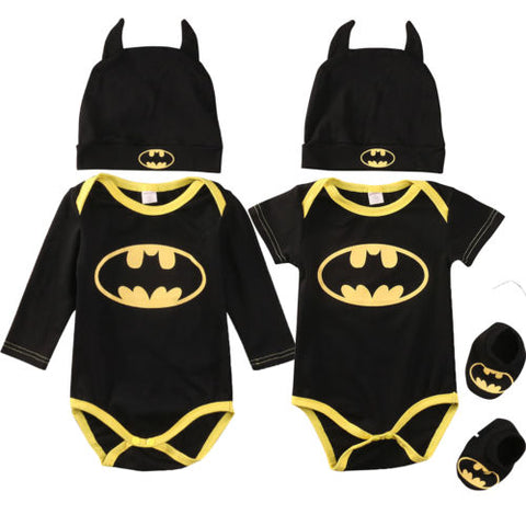 Boys Infant/Toddler Batman 3-Piece Outfit