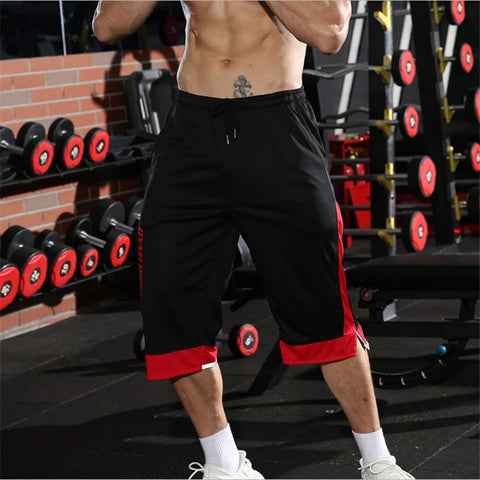 Young Men's Longer Workout Shorts