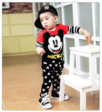Boy's Toddler and Kids Fashion Leisure T-Shirt and Joggers 2 Piece Set