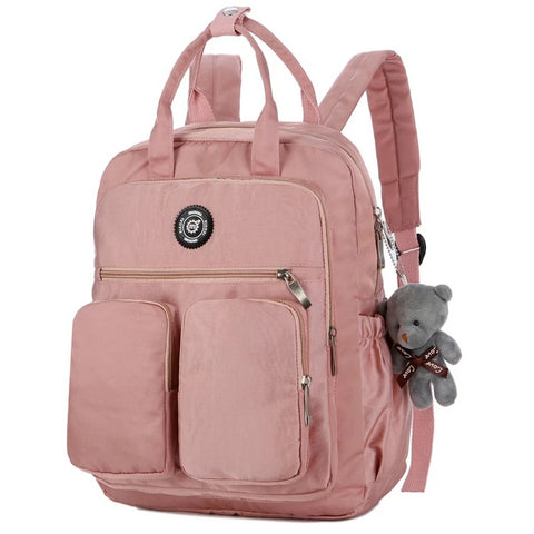 Ladies Waterproof Nylon Backpack