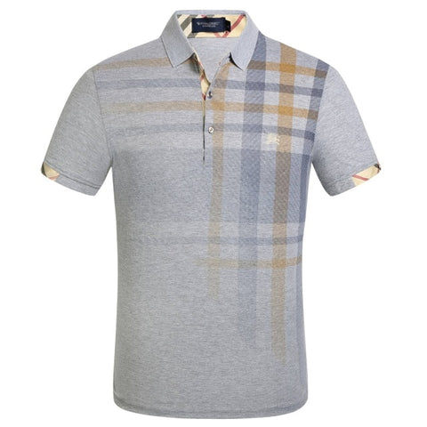 Men's Slim Fit Vibrant Polo Shirt