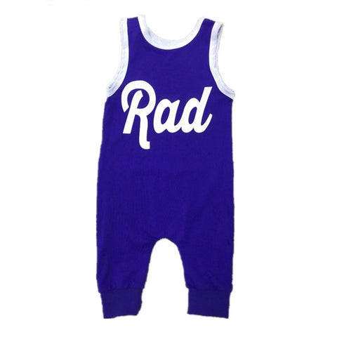 Unisex Infant/Toddler Rad Tank Romper