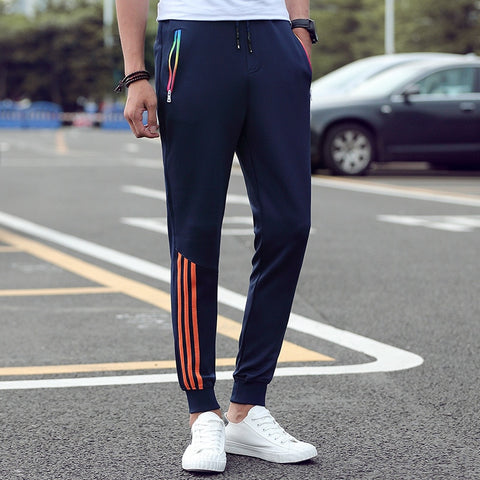 Young Men's Slim Fit Striped Jogger