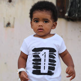 Unisex Toddler and Child Fashion What's My Age T-shirt