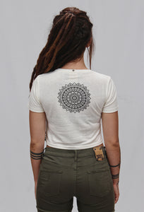 Hemp | Harmony Mandala | Crop Top