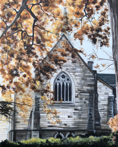 "Grace Episcopal Church, 20""x16"""