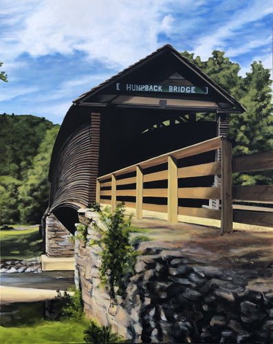 Humpback Bridge, print