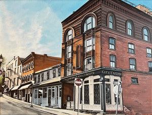 Saratoga City Tavern, print