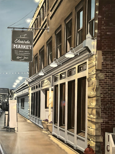 Edwards Market, print