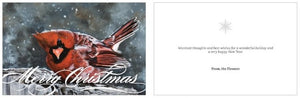 "~Merry Christmas~ cards featuring ""Braving the Elements"""