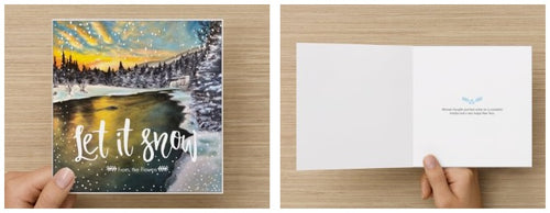 ~Let it Snow~ cards featuring