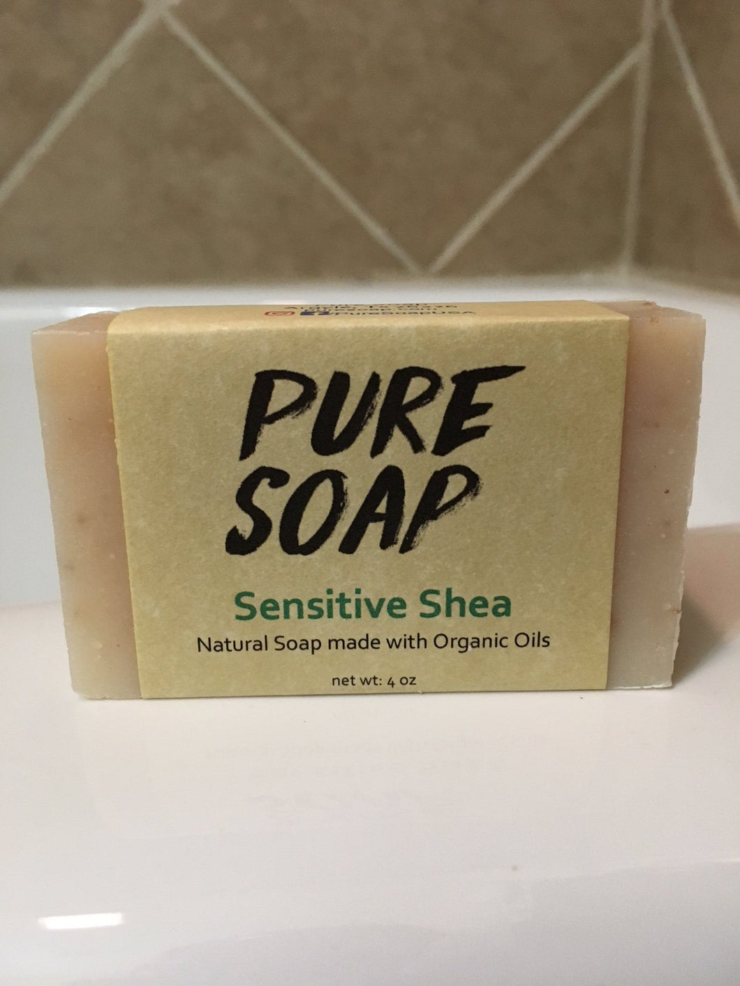 all natural pure shea butter soap