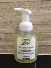 Cedarwood Foaming Soap - The Woodsman - Cedar Oil Soap