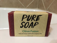 Citrus Fusion Organic Bar Soap
