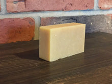 handcrafted biodegradable patchouli orange bar soap