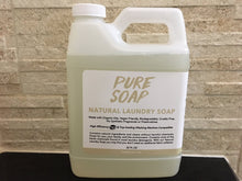 Natural Liquid Laundry Detergent / Soap