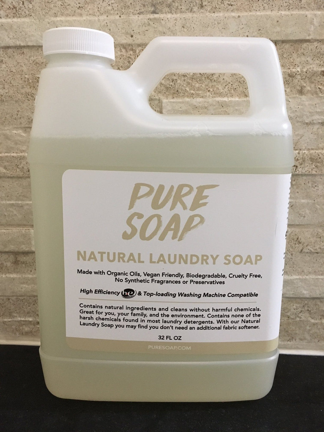 natural unscented laundry detergent and soap