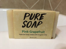 Pink Grapefruit Soap Bar