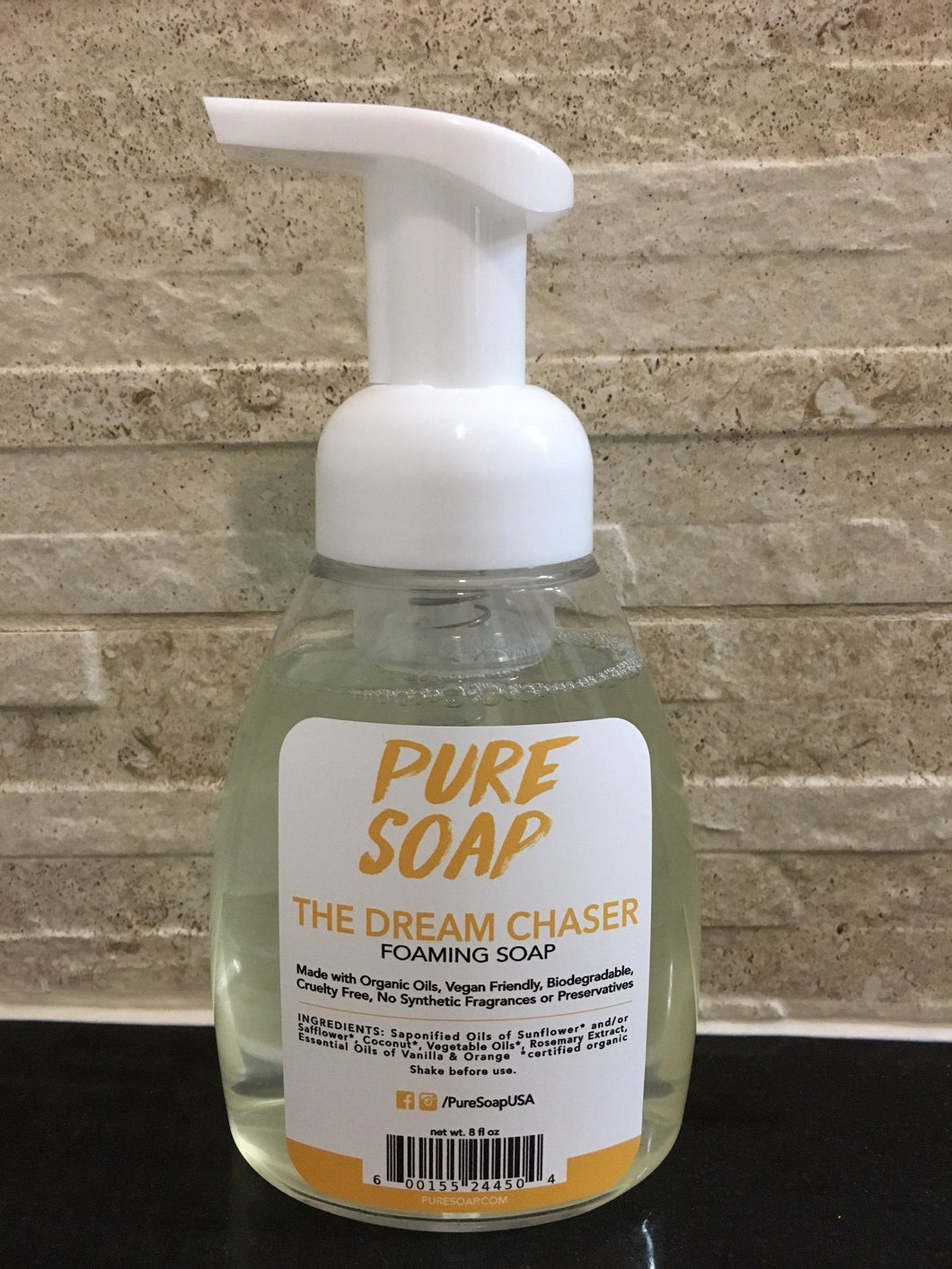 Dream Chaser - Organic Orange Vanilla Foaming Soap