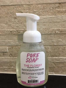 Vanilla Lavender Tea Tree Foaming Soap - The Florist