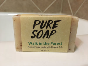 Walk in the Forest Organic Bar Soap