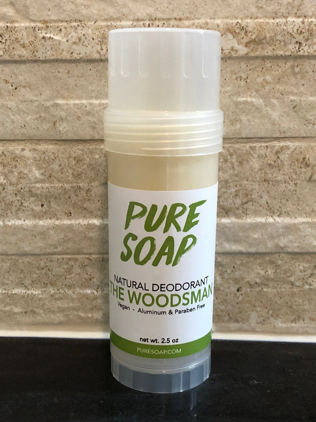 Woodsman most effective natural deodorant for men aluminum free