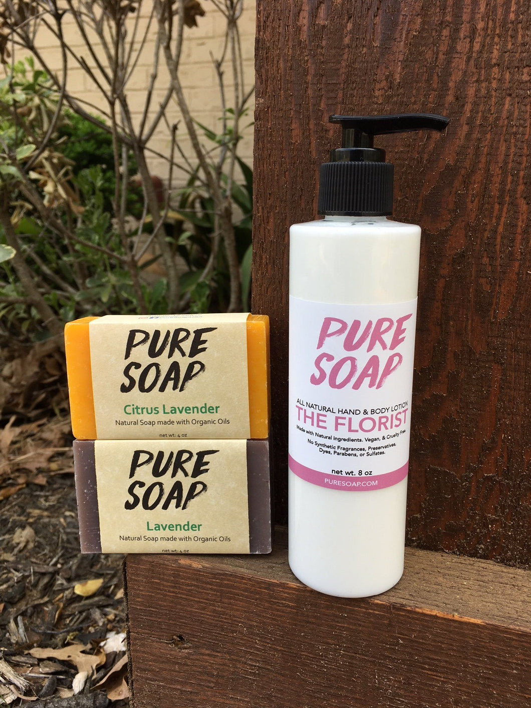 Lotion and Bar Soap Combo Pack