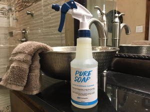 Natural Glass & Surface Cleaner