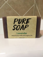 best organic lavender soap bar
