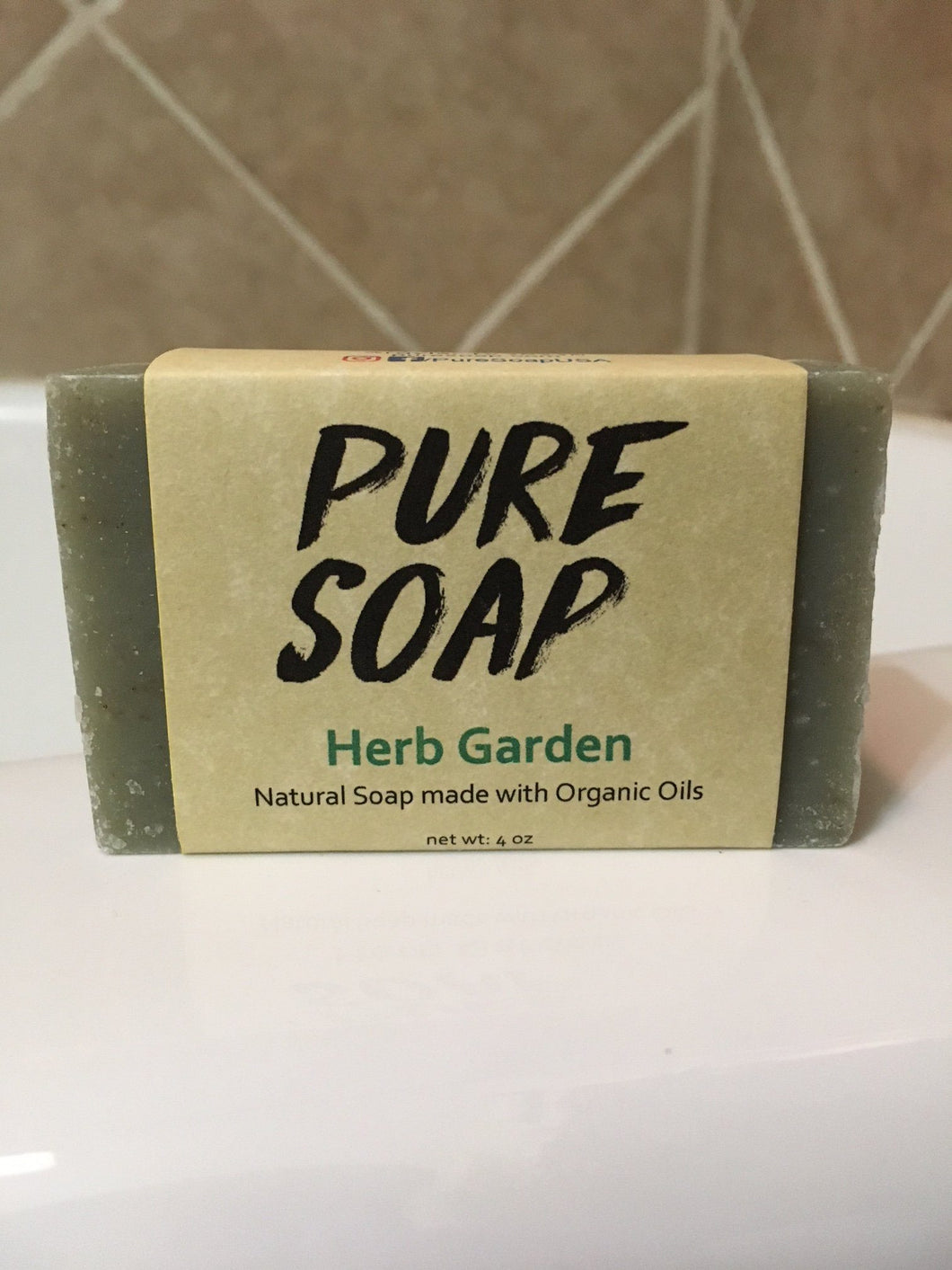 herbal soap bar handmade herb garden organic natural soap