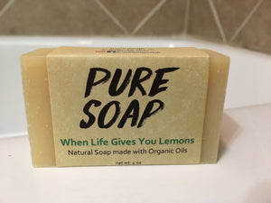 When Life Gives You Lemons Organic Bar Soap