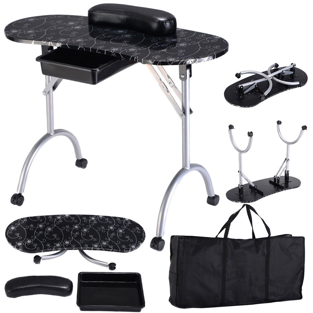 Eurostyle Smart Portable Manicure Table