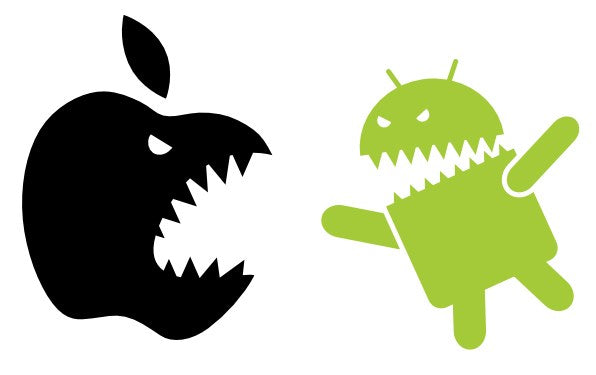 The Clash of Titans: Android vs. iOS