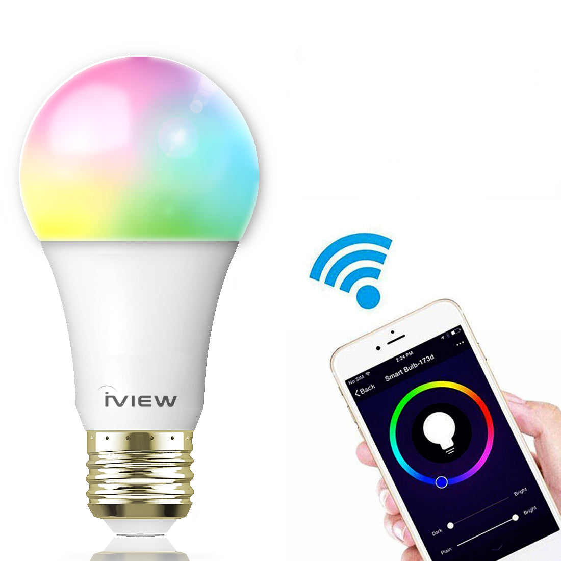 These Multicolor LED Smart Bulbs are $14, and they're just as good as $50 Philips Hue Bulbs