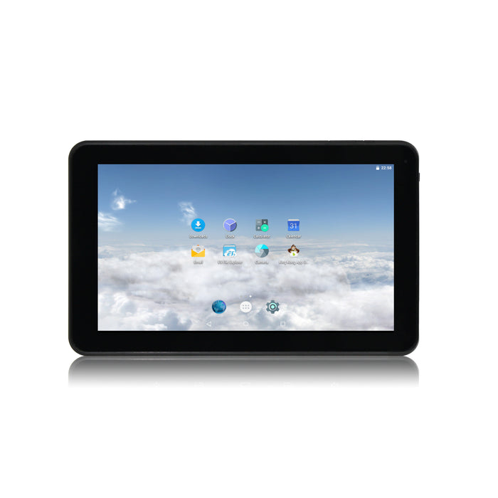 "1060TPC-K 10.1"" 1024 × 600 Cortex A7 Quad Core 1.3GHz, 1GB DDR3/16GB Android Tablet w/ Keyboard Case"