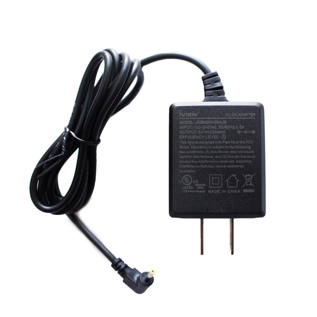 Generic Compatible Replacement AC Adapter Charger for Q See QM6007D Network Camera High Res 600TV Line DC Power Cord
