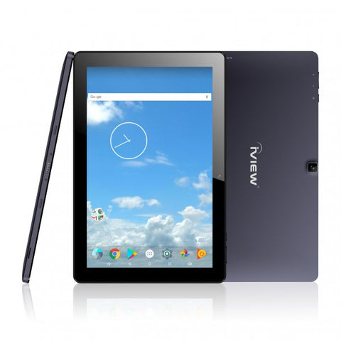 1070TPCII black Android tablet vertical view